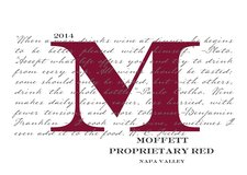 Moffett Proprietary Red Wine - Napa Valley 2014