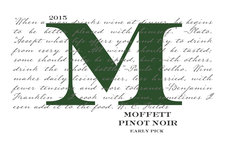 2017 Moffett Pinot Noir - Whole Cluster