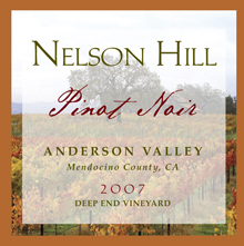 2007 Anderson Valley Pinot Noir