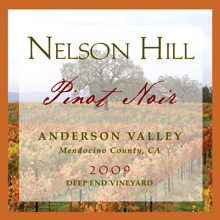 2009 Anderson Valley Pinot Noir