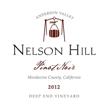 2012 Anderson Valley Pinot Noir