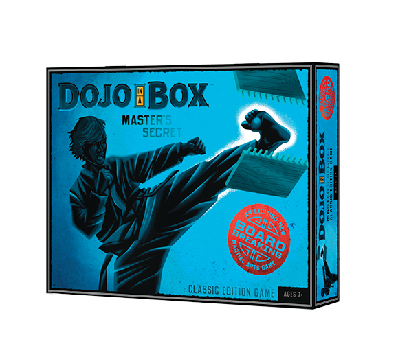 Dojo in a Box Martial Arts Board Breaking Game Classic Edition