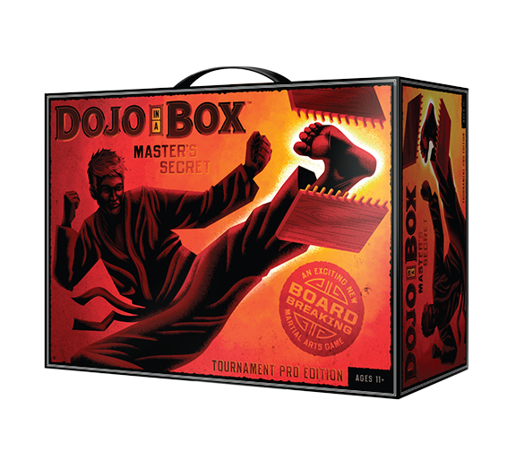Dojo In A Box Martial Arts Board Breaking Game Tournament Pro Edition