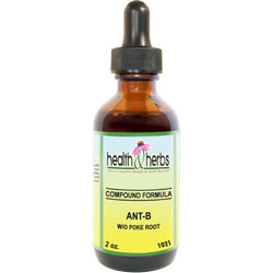 Anti-B Herbal Formula w/o Poke Root |Tinctures-Liquid Herbal Extracts & Their Uses LARGE