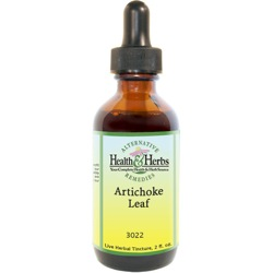 Artichoke Leaf |Tinctures-Liquid Herbal Extracts & Benefits LARGE