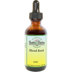 Blood Root|Tinctures-Liquid Herbal Extracts &Their Uses