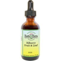 Bilberry Leaf, aka Huckleberry |Tinctures-Liquid Herbal Extracts & Benefits LARGE