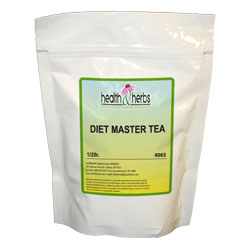 Diet Master Tea|Pu'erh Tea, Green Rooibos Tea, Chickweed , Garcinia Cambogia, Bilberry and Dandelion