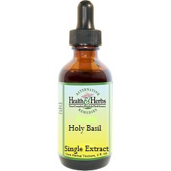 Holy Basil-Tulsi|Liquid Herbal Tinctures/Extracts and Their Benefits LARGE