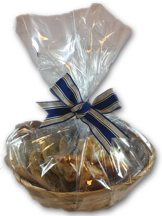 A delicious assortment of kosher cookies and pastries for our Chanukkah cookie gift