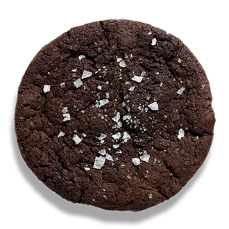 Chocolate Sea salt Vegan Cookie delivered