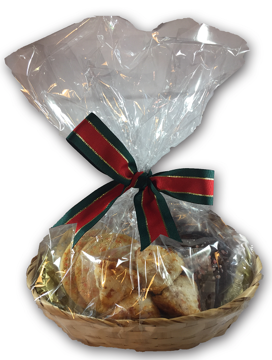 Cookie gifts and baskets for the Christmas Holidays