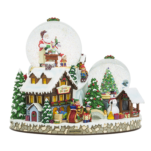 Christmas Village Snowglobe