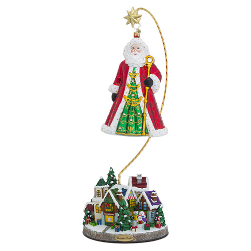 Christmas Village Ornament Stand