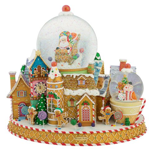 Sweet Delivery Snowglobe
