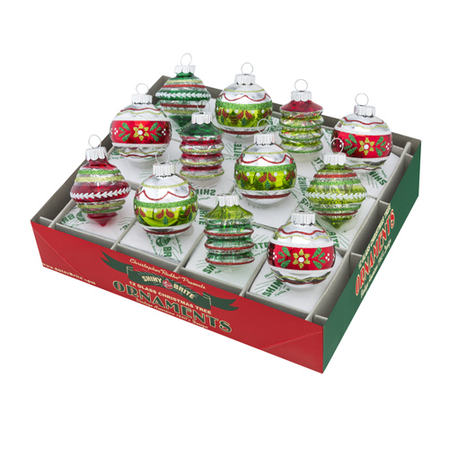 Holiday Splendor Translucent Rounds & Shapes with Tinsel