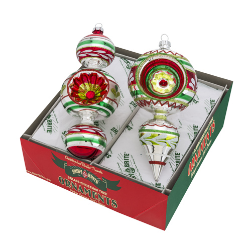 Holiday Splendor Decorated Shapes