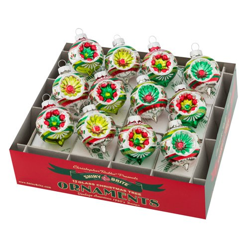 "Holiday Splendor 1.75"" 12c Decorated Rounds"