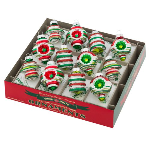"Holiday Splendor 1.75"" 12c Decorated Shapes"