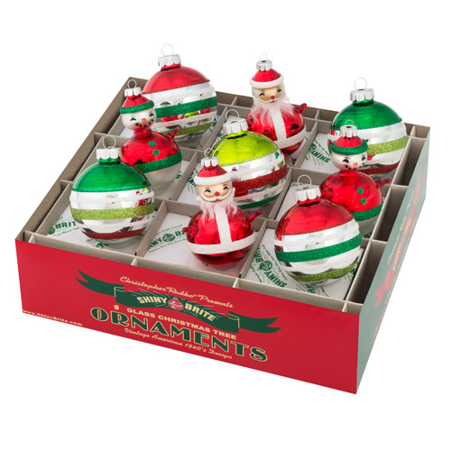 "Holiday Splendor 2.5"" 9c Decorated Rounds With Figures"