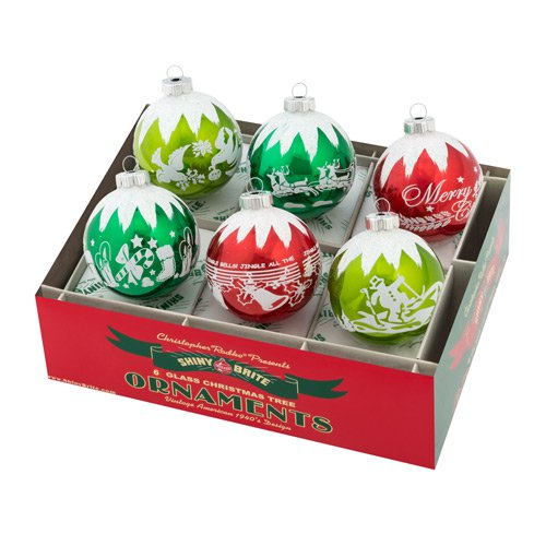 "Holiday Splendor 3.25"" 6c Signature Flocked"