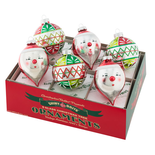 "Holiday Splendor 3.25"" 6c Decorated Rounds and Figures"