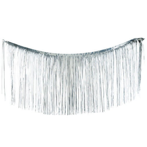 "Holiday Splendor 18"" 1000c Silver Tinsel"