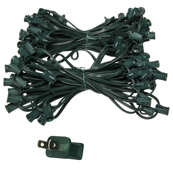 "C7 100 Socket Cord, 12"" Spacing"