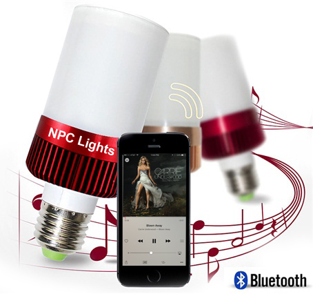 Bluetooth Speaker LED light bulb