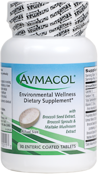 Environmental Health Supplement - Avmacol: Containing maitake extract, glucoraphanin,  and myrosinase enzymes