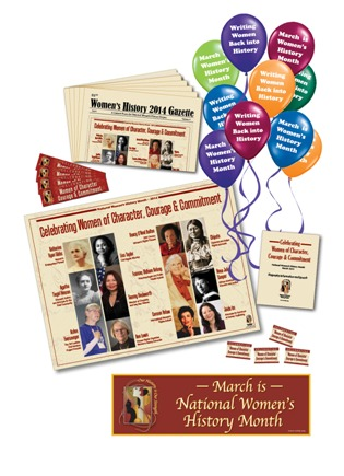 Shop 2014 National Women's History Month Materials