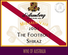 d'Arenberg The Footbolt Shiraz 2005 (1.5L)