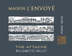 Maison L'Envoye The Attache Pinot Noir 2013