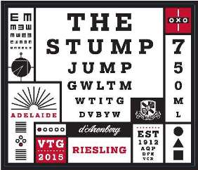 d'Arenberg The Stump Jump Riesling 2015