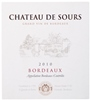 Chateau de Sours Rouge 2010