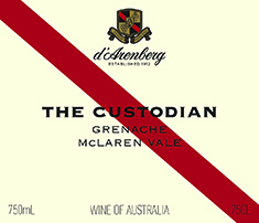 d'Arenberg The Custodian Grenache 2016 MAIN