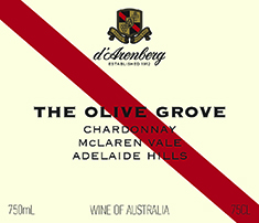 d'Arenberg The Olive Grove Chardonnay 2012 MAIN