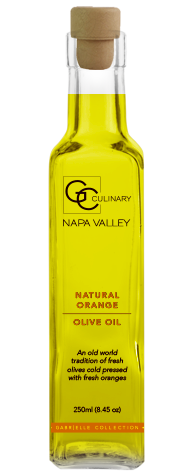 Natural Orange Olive Oil 250ml LARGE