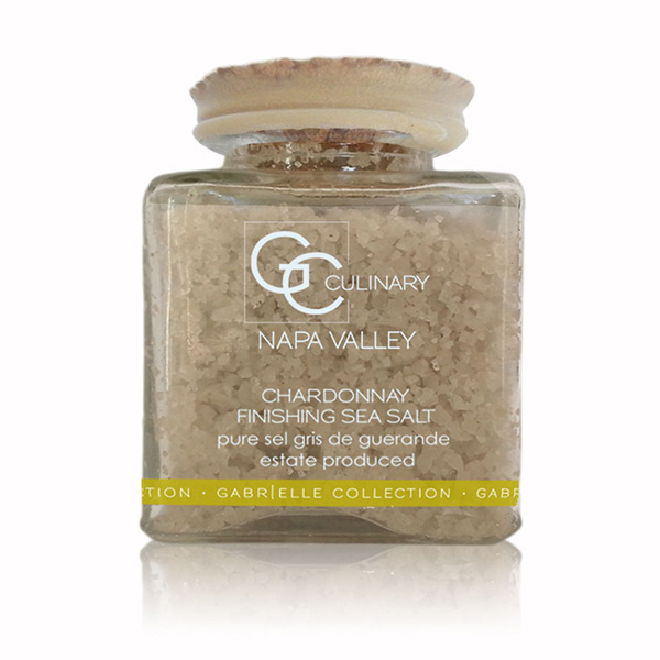 Chardonnay Finishing Sea Salt 3oz LARGE