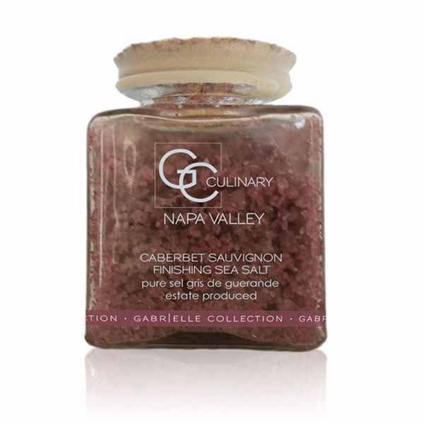 Cabernet Sauvignon Finishing Sea Salt 3oz Jar