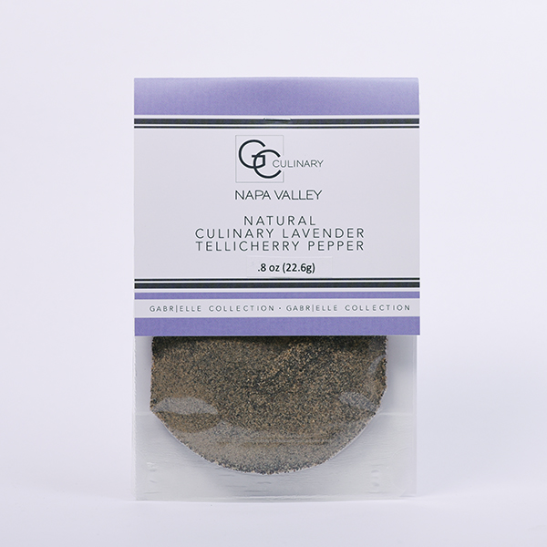 Natural Culinary Lavender Tellicherry Pepper .8oz