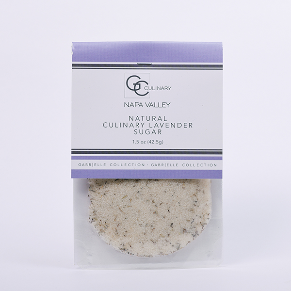 Natural Culinary Lavender Sugar 1.5oz