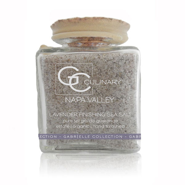 Natural Culinary Lavender Finishing Sea Salt LARGE