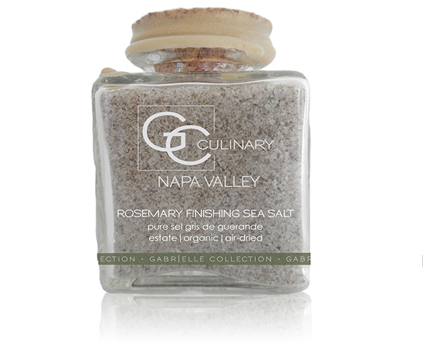 Natural Tuscan Rosemary Finishing Sea Salt