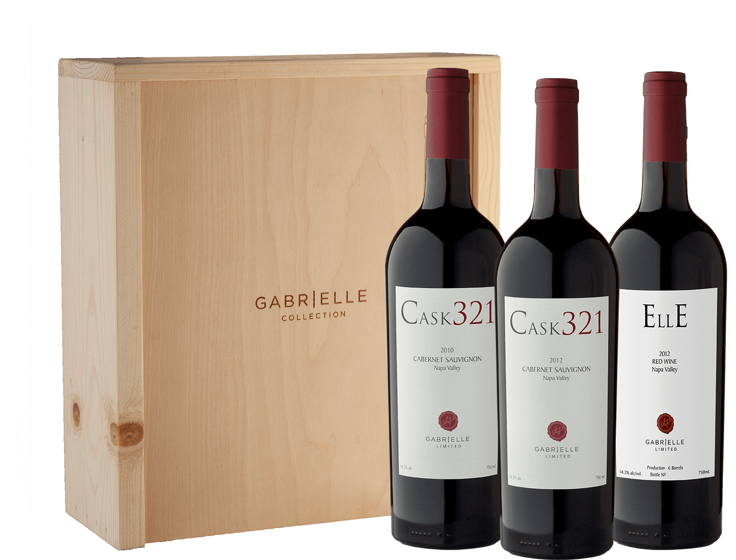 Gabrielle Limited Trio in Wood Gift Box