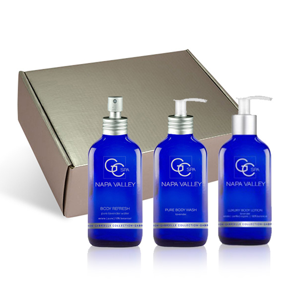Spa Naturals in Silver Gift Box