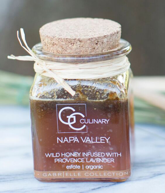 Natural Culinary Lavender Infused Honey, 8oz