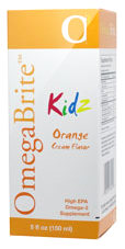 OmegaBrite KIDZ Orange Cream