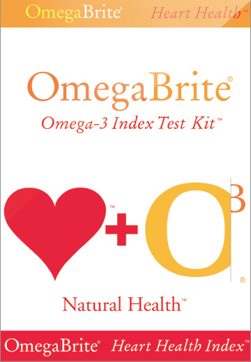 OmegaBrite Omega-3 Index Test Kit MAIN