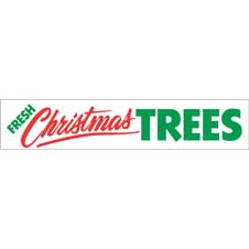 Fresh Christmas Trees (3'x8')